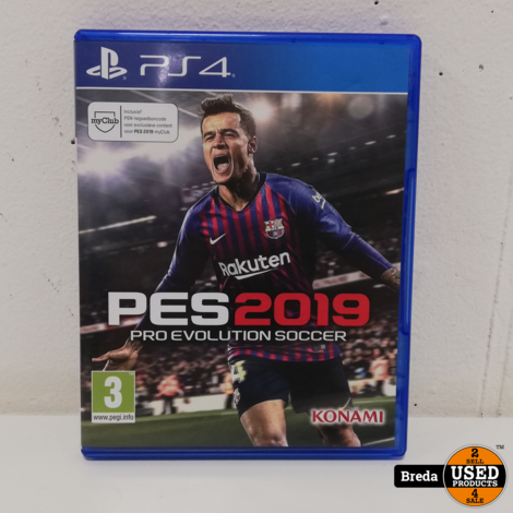Playstation 4 Pes  ProEvolution Soccer 2019 | Incl. garantie