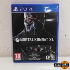 Playstation 4 PS4 Game Mortal Kombat XL | Met garantie