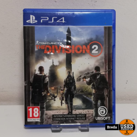 The Division 2 Playstation 4   Incl. garantie