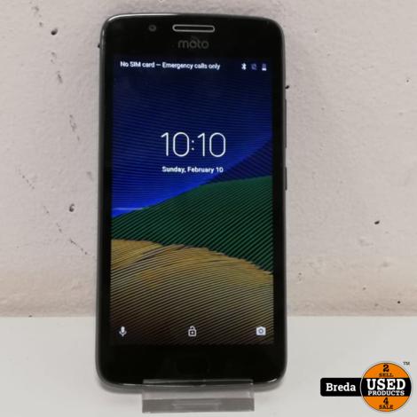 Motorola G5 16gb zonder oplader | Incl. garantie