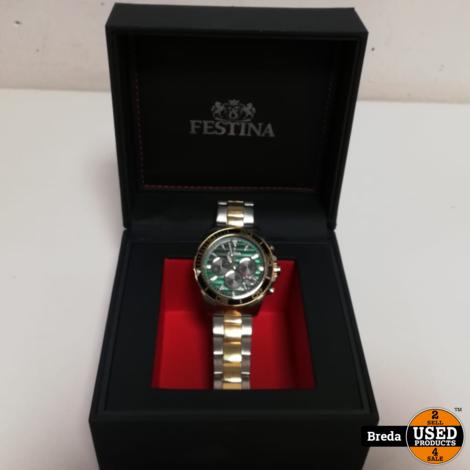 Festina chronograaf »Prestige Kollektion, F20363/4« in doos | Incl. garantie