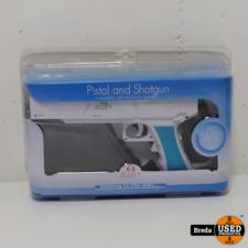 Nintendo wii pistol and shotgun in doos | Incl. garantie
