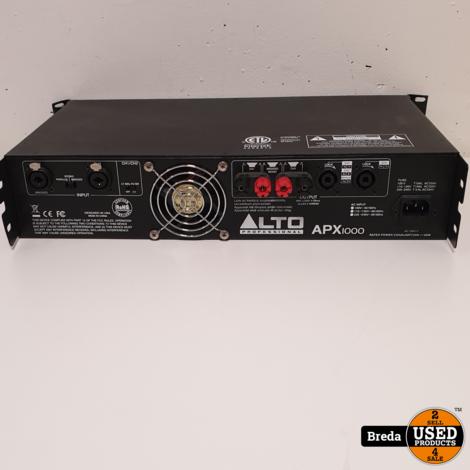 Alto Professional APX1000 2x 500 Watt versterker | Incl. garantie