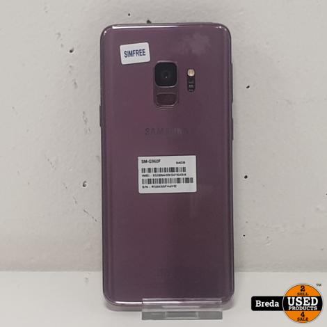 Samsung S9 64GB Paars | Met garantie