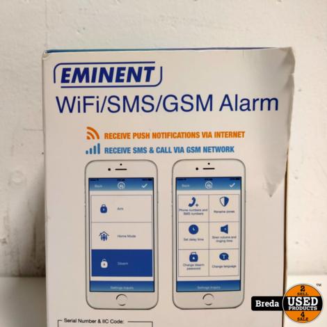 Eminent EM8615 WIFI/SMS/GSM Alarm in doos