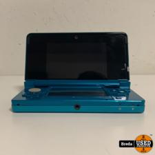 Nintendo 3DS Aqua Blauw  | Incl. garantie