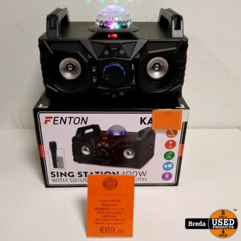 Fenton KAR100 Singstation BATT.JB. MICRO 178.340 || NIEUW ||