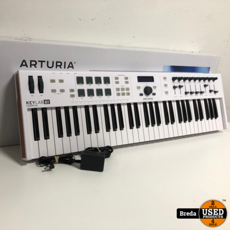 Arturia keylab essential 61  Incl. garantie