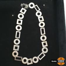 Zilveren sieraden ( armband en ketting set )