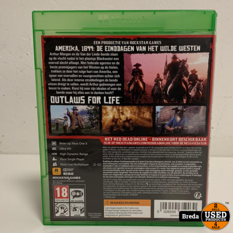 Red Dead Redemption 2 (2 Disc)
