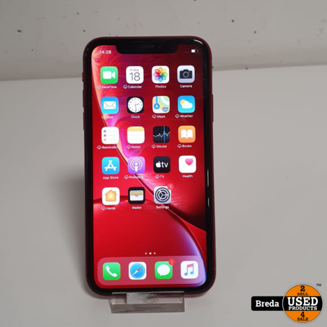 iPhone XR 128GB Rood | Nette staat | Met garantie