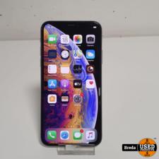 iphone XS zilver 64GB zonder lader en zonder doos