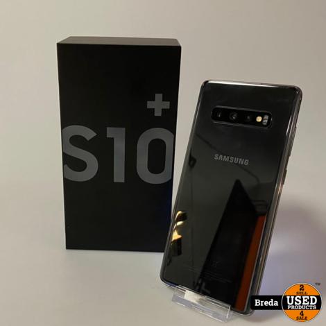Samsung Galaxy S10+ Black 128GB | Met garantie