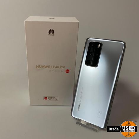 Huawei P40 Pro 5G 256GB Silver   Nieuwstaat met garantie
