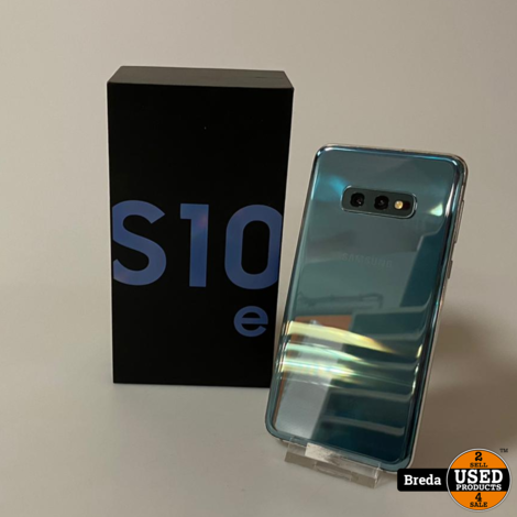 Samsung Galaxy S10E Prism Bleu | Gebruikt met garantie