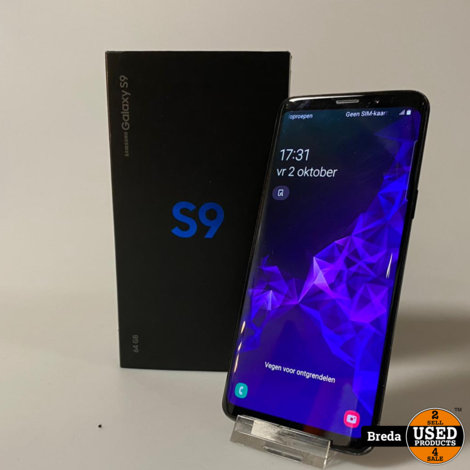 Samsung Galaxy S9 64GB Black | Met garantie
