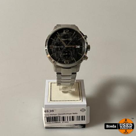Tommy Hilfiger Heren Horloge Staal met Garantie