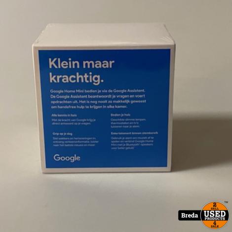 Google Home Mini | NIEUW in seal | Met garantie