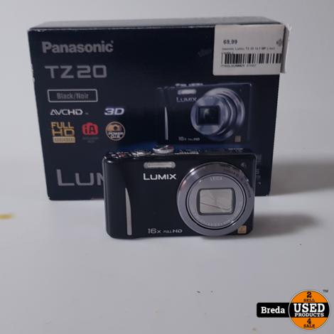 Panasonic Lumix TX 20 14.1 MP || Incl Garantie ||