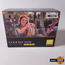 Nikon Coolpix W150 Wit Holiday Kit   NIEUW in doos