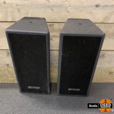JB System ISX 10 Passieve Speakers   8ohm 60Watt   Set van 8 speakers