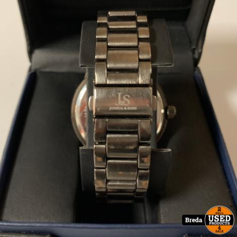 Joshua & Sons heren horloge s82bk   NIEUW    Met garantie