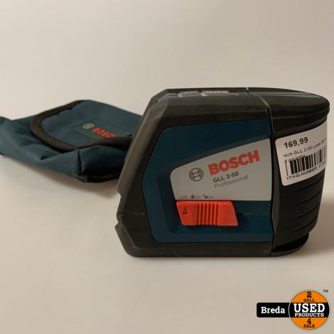 Bosch GLL 2-50 Laser Bouwlaser | Met garantie