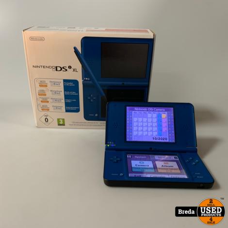 Nintendo DSi XL Blauw | Met garantie