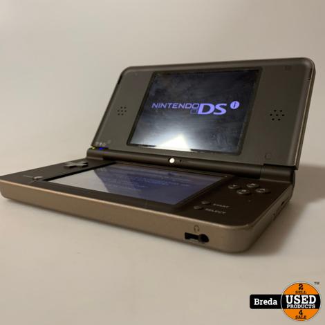 Nintendo DSi XL Bruin   Met garanatie