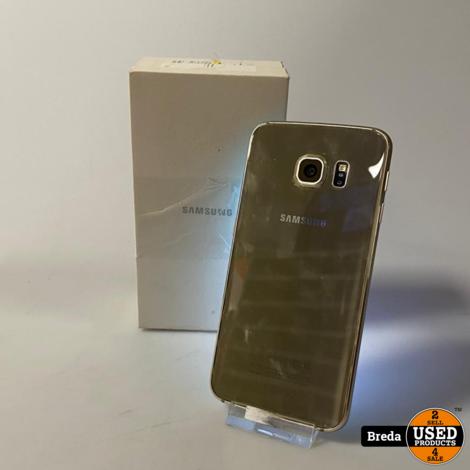Samsung Galaxy S6 Edge 32GB Gold   Met Garantie