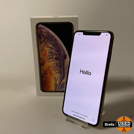iPhone XS Max 256GB Goud   Nette Staat met Garantie
