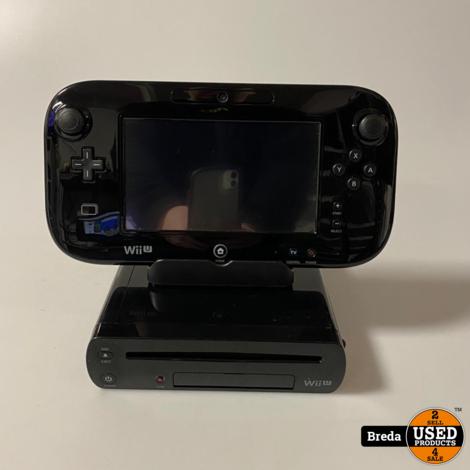 Nintendo Wii U Zwart | Nette staat met Garantie