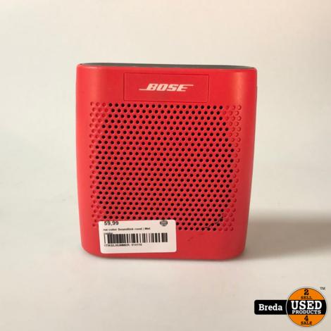 Bose color Soundlink rood | Met garantie