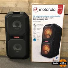Motorola Party speaker | Nieuwstaat | In doos