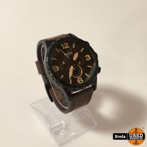 Fossil Heren Horloge Bruin/Zwart | Met garantie