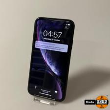 iPhone Xr 64GB Black | Nette Staat met Garantie