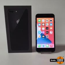 IPhone 8 Plus 64GB Black | Gebruikt met Garantie