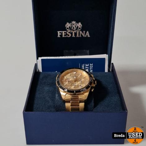 Festina Chromograph Horloge l Nette staat