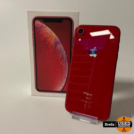 iPhone Xr 256GB Red | Nette staat met Garantie