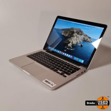 Macbook Pro 2013 13 inch i5 2.4 Ghz. 4GB DDR3. l Met Garantie