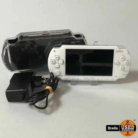 PSP1000 Silver in Goede Staat   Met garantie