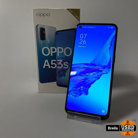 Oppo A53S 128GB Zwart | Nette staat met Garantie