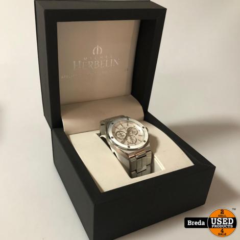 Michel Herbelin Horloge 37645 ZGAN + BON met Garantie