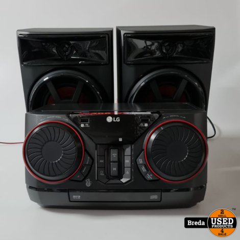LG CK43 Stereo Set   Nette staat met Garantie