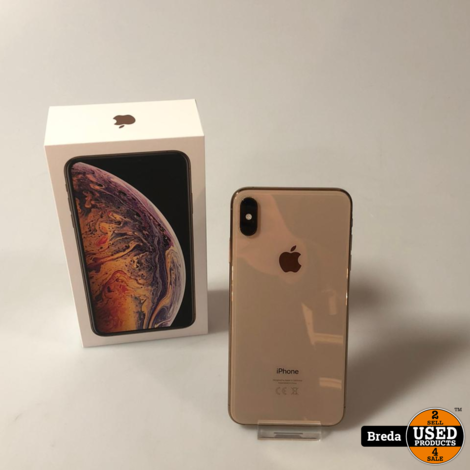 iPhone XS Max 256GB Goud In Doos Met Garantie