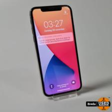 iPhone X 256GB Wit | Camera defect | Met garantie