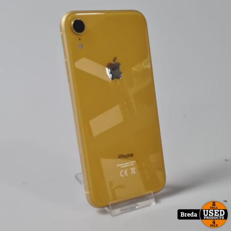 iPhone XR 128 GB Yellow l Nette staat l Met Garantie
