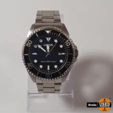 Lorus Staal Heren horloge RH939GX9 | In Nette Staat | Met garantie