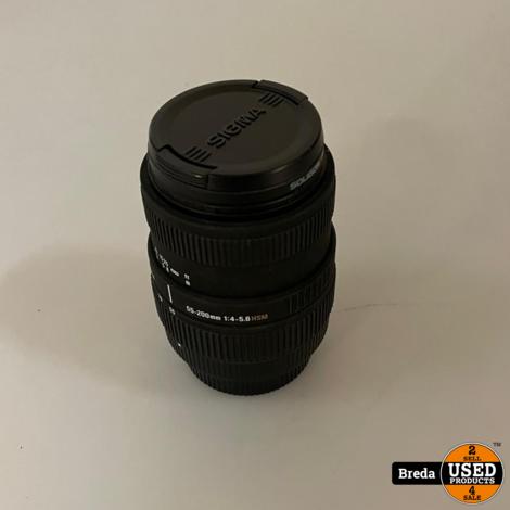Sigma 55-200MM Lens | Nette staat met Garantie