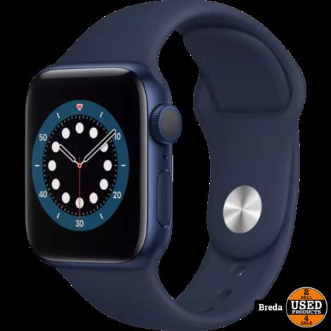Apple watch 6 Serie 44MM Blauw   Nieuw in seal